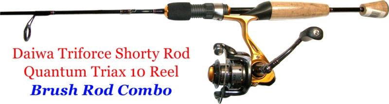 brush rod for fishing