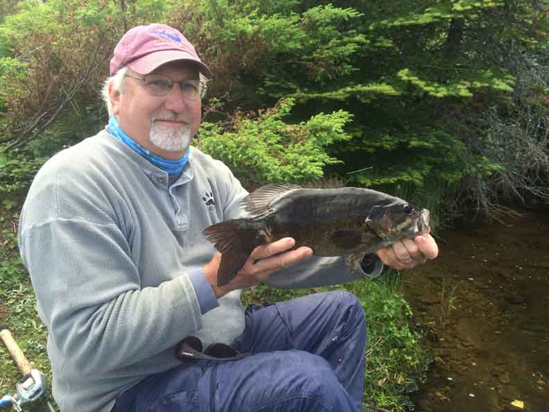 Bob N. with Nice Smallie