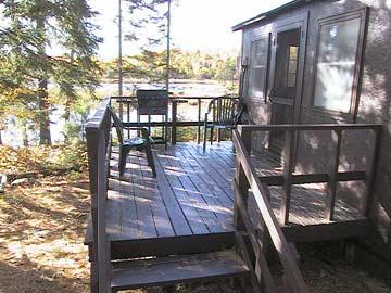 Island Cabin - rustic cabin on island