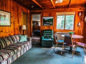 Cabin #2 Living room