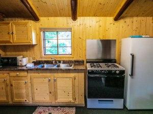 Cabin #2 Kitchen