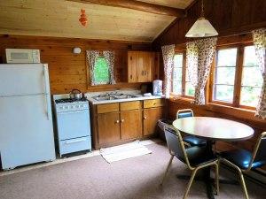 Cabin #3 Living area