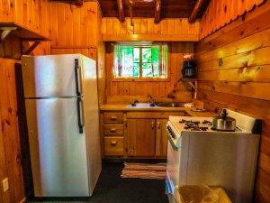Cabin #4 Kitchen