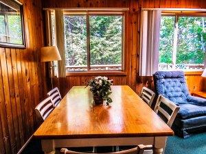 Cabin #4 Dining Area