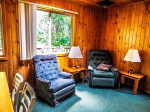 Cabin #4 Living Area