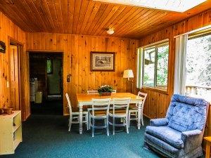 View from the door in Cabin #4.