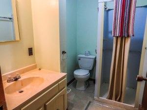 Cabin #6 Bathroom View