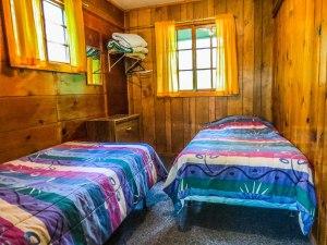 Cabin #6 Bedroom