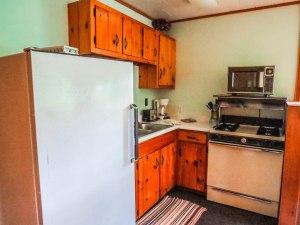 Cabin #6 Kitchen