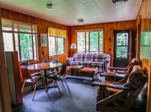 Cabin 6 Living Area View #2
