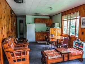 Cabin #6 Living area