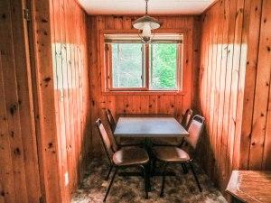 Treetop Haus Dining Area