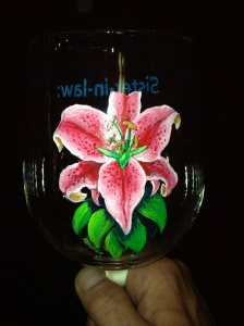 Glass Painting at Ely's Artfitter Northwind Lodge