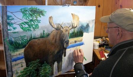 Into The Brush Art Program