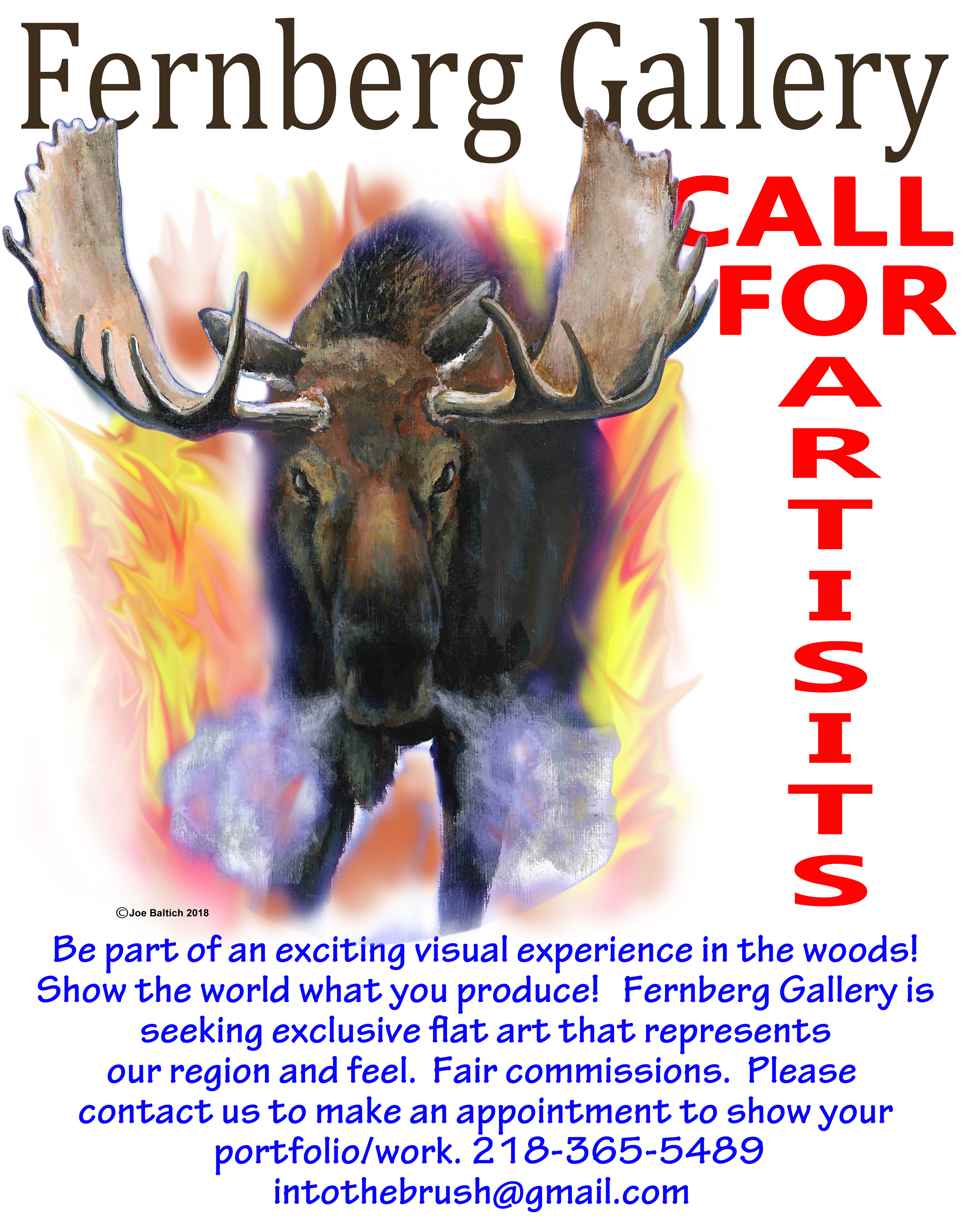 Call to artists by Fernberg Gallery