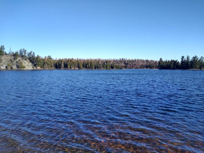 Jasper Lake at Northwind Lodge, May 2020
