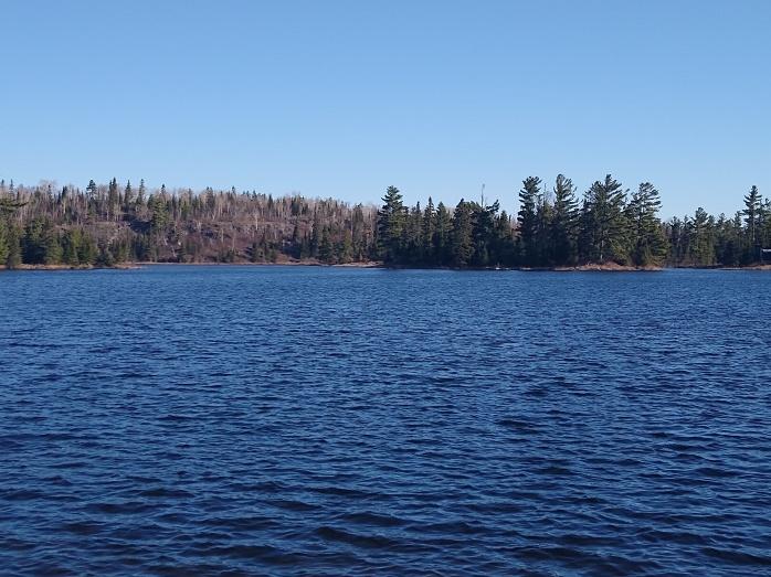 Jasper Lake from Northiwnd Lodge