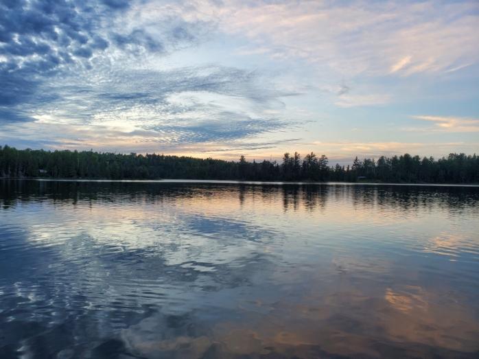 Jasper Lake morning - Northwind Lodge