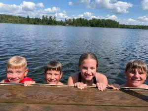 Dock Time at Northwind Lodge - Ely MN
