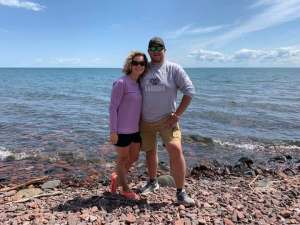 After leaving Northwind Lodge, we took a swing past Lake Superior